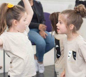 Rabbits Academy Kids in Drama and dance class at Jac Jossa Academy in Kent