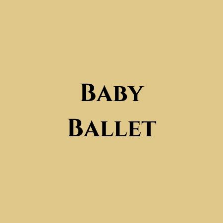 baby ballet at Jac Jossa Academy