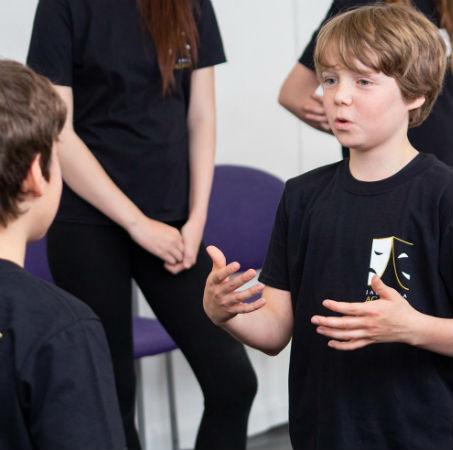 weekday drama class at Jac Jossa Academy in Kent